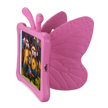 Kids Safe Case for iPad mini 1 2 3 4, 3D Cartoon Butterfly Stand Shockproof Tablet Case Cover for Apple mini1 mini2 mini3 mini4 115601